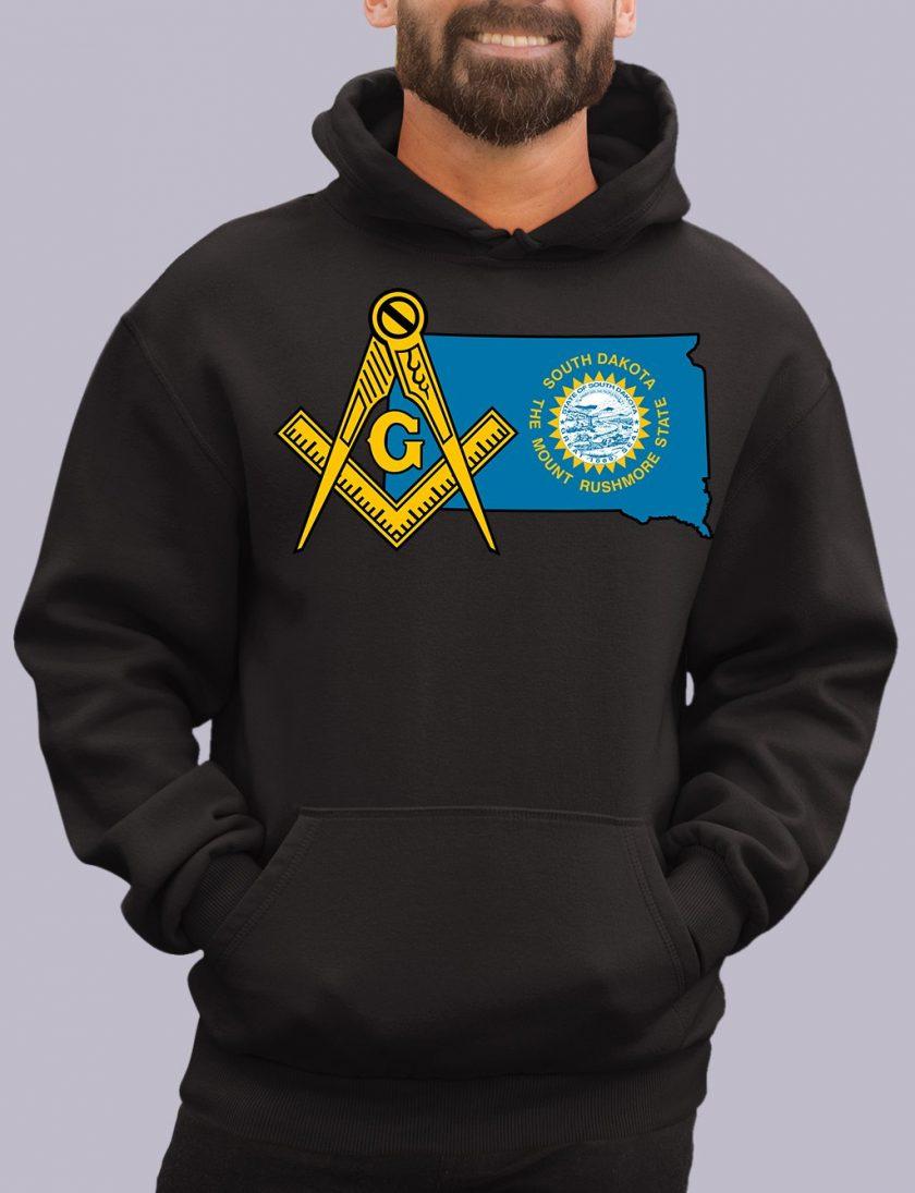 south dakota black hoodie