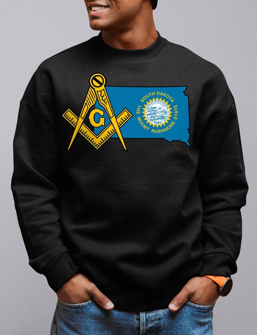 south dakota black sweatshirt
