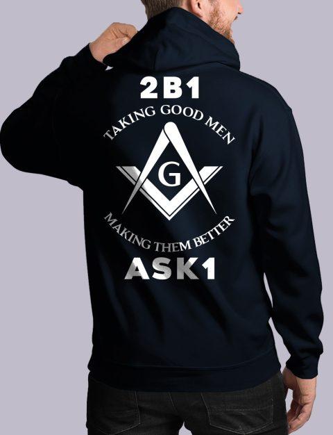 Taking Good Men Masonic Hoodie taking good men back navy hoodie