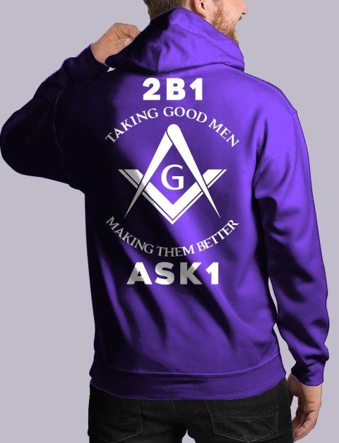 Taking Good Men Masonic Hoodie taking good men back purple hoodie 1