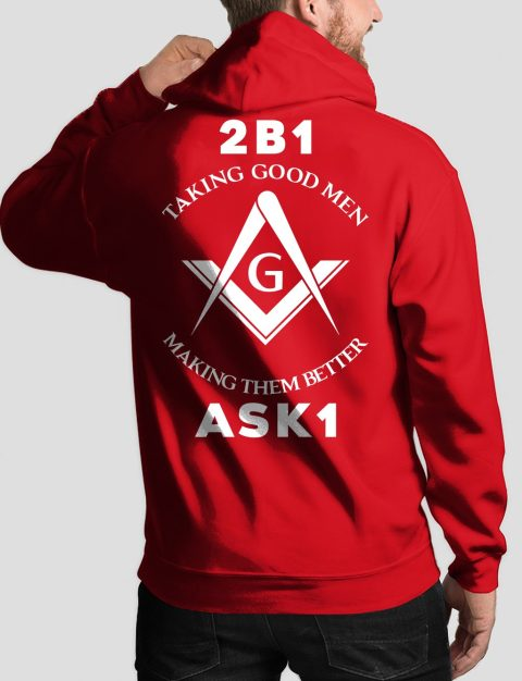 Taking Good Men Masonic Hoodie taking good men back red hoodie 1