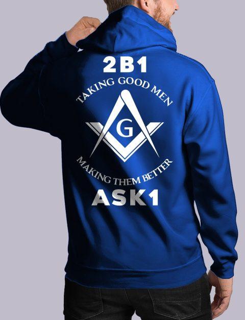 Taking Good Men Masonic Hoodie taking good men back royal hoodie 1