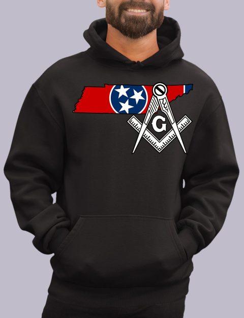 Tennessee Masonic Hoodie tennesse black hoodie