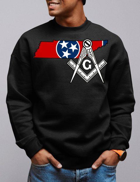 Tennessee Masonic Sweatshirt tennessee black sweatshirt