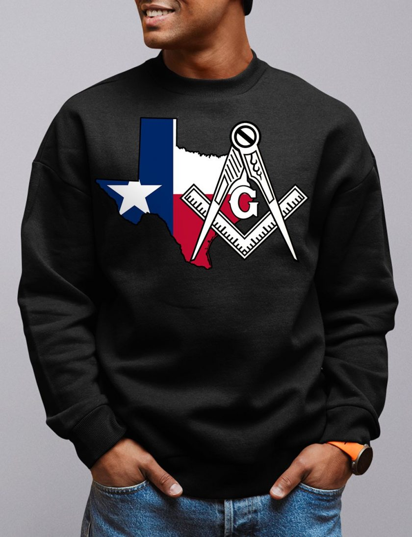 texas black sweatshirt