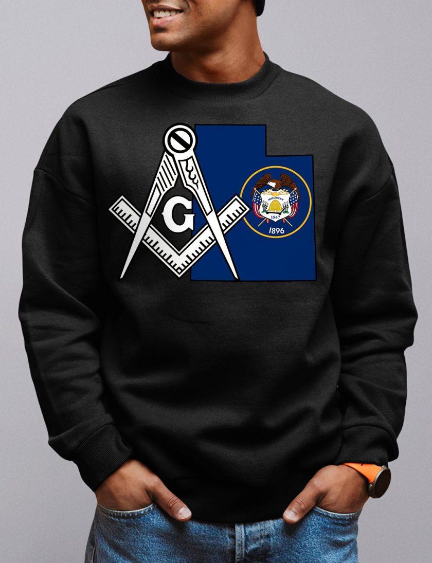 utah black sweatshirt