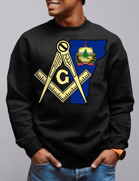 Vermont Masonic Sweatshirt vermont black sweatshirt
