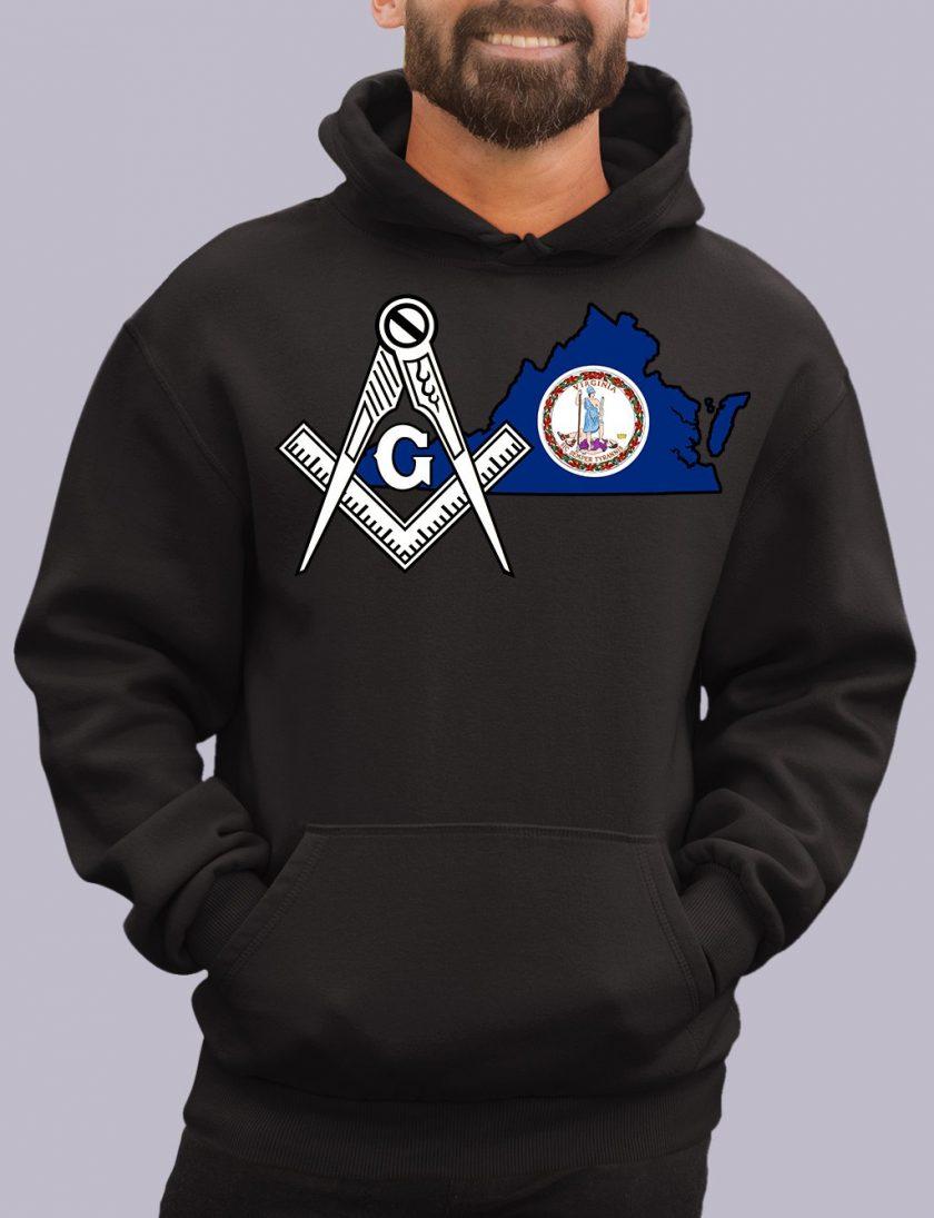 virgina black hoodie
