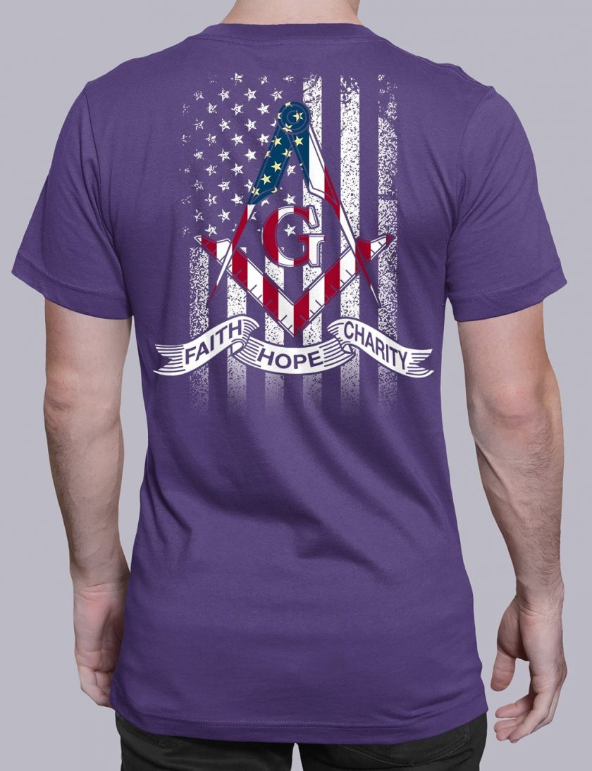 faith purple shirt