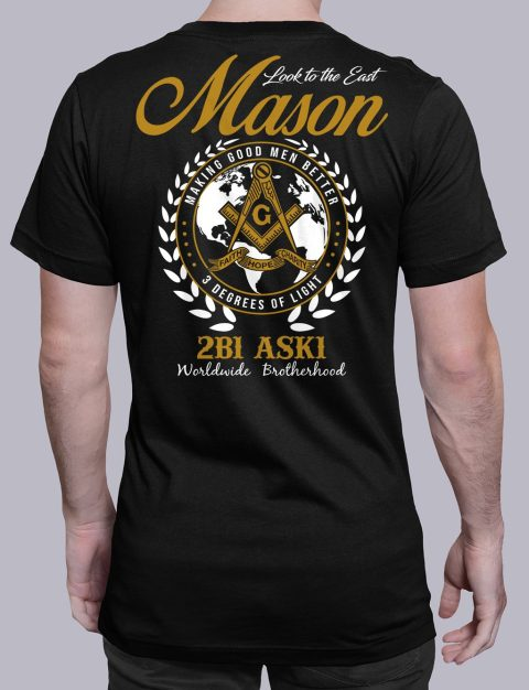 Mason Look To The East mason ltte black shirt