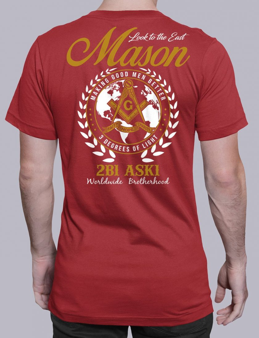 Mason Look To The East mason ltte red shirt
