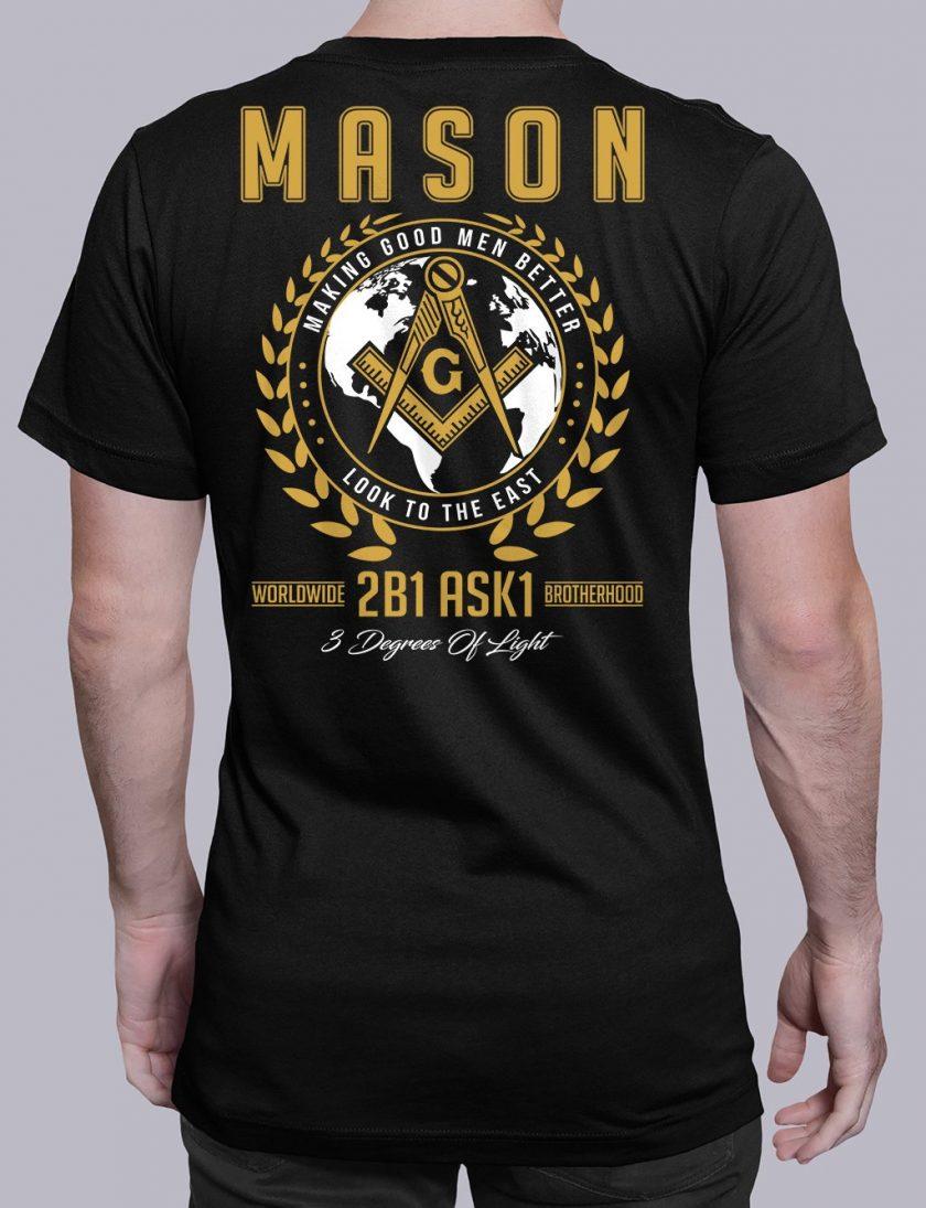 mason mgmb 2 black shirt
