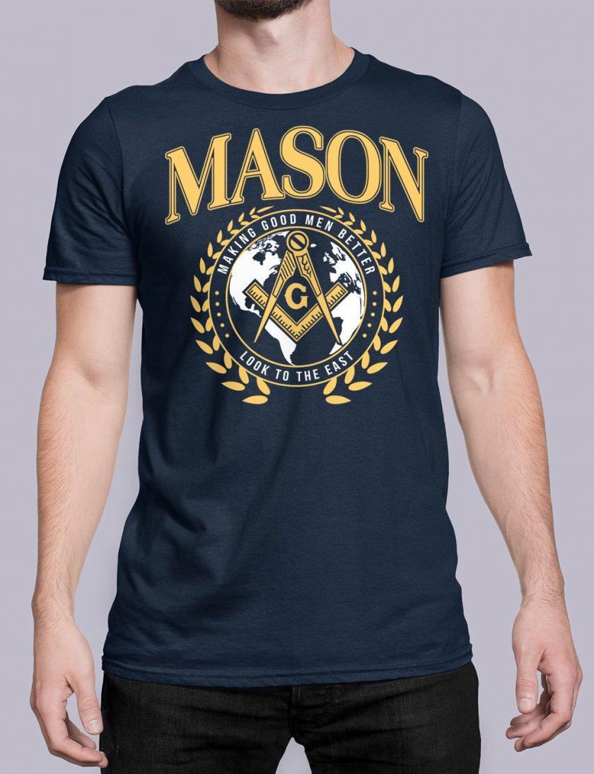 mason mgmb navy shirt