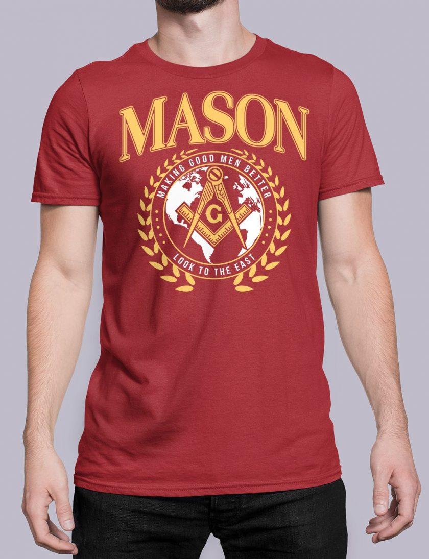 mason mgmb red shirt