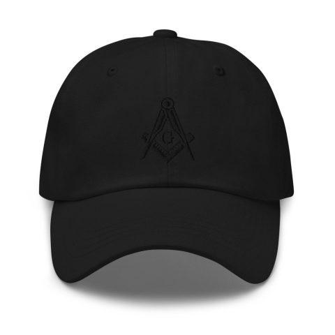 Square and Compass Masonic Hat mockup 8128419b