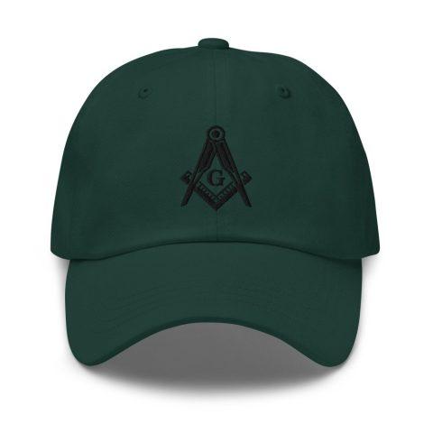Square and Compass Masonic Hat mockup b61ec861