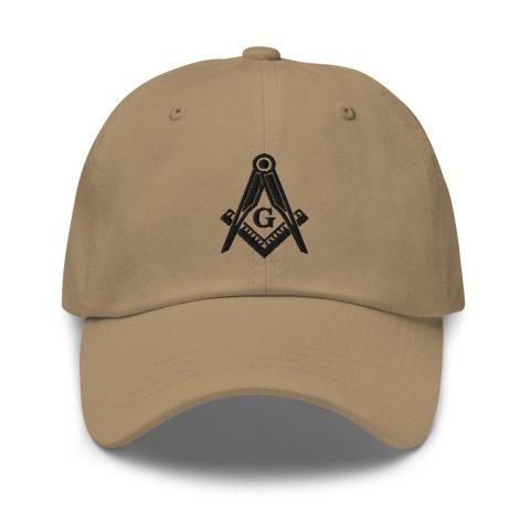 Square and Compass Masonic Hat mockup bc8ba359