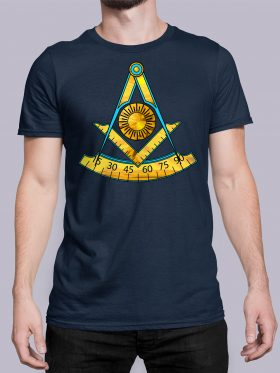 Past Master T-Shirt Navy