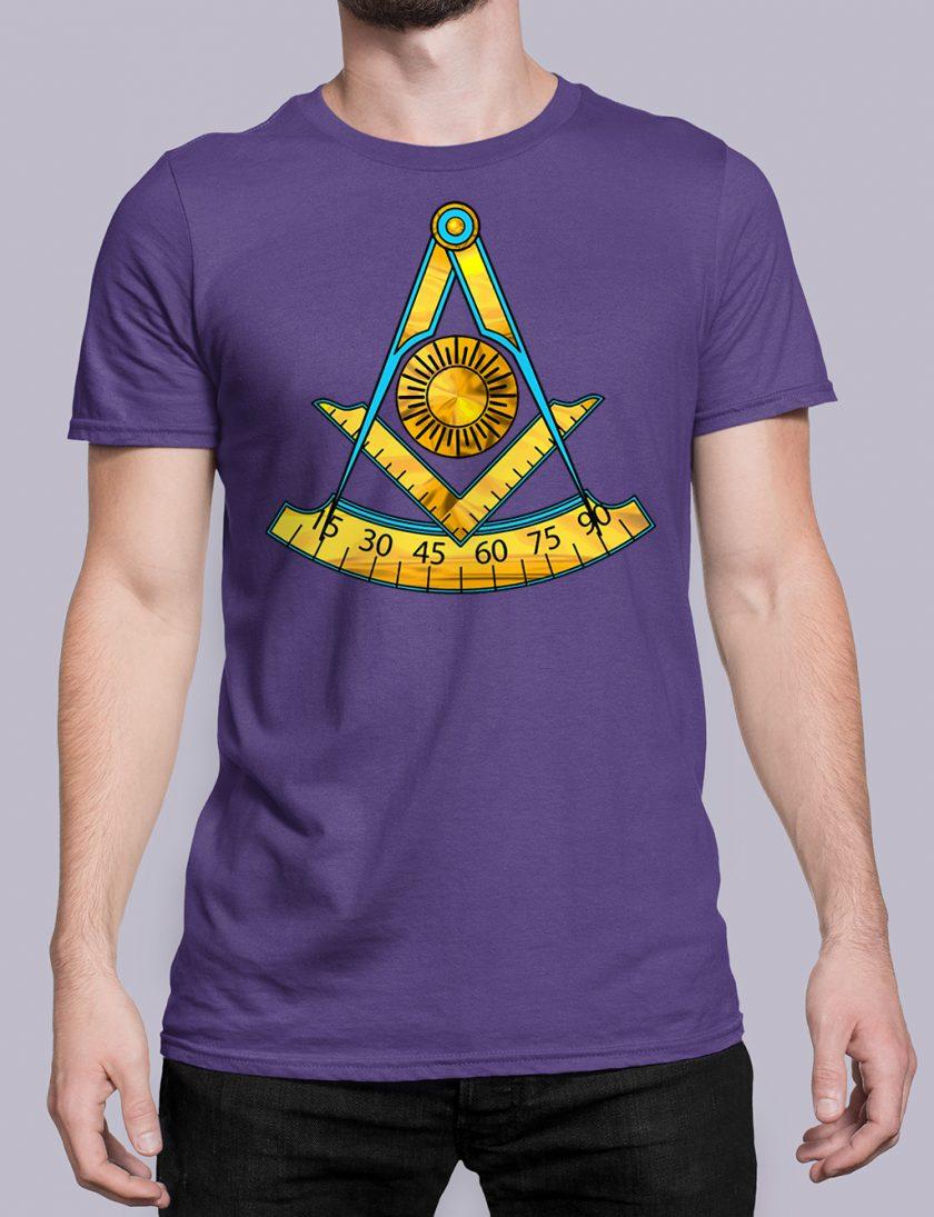 Past Master T-Shirt Purple