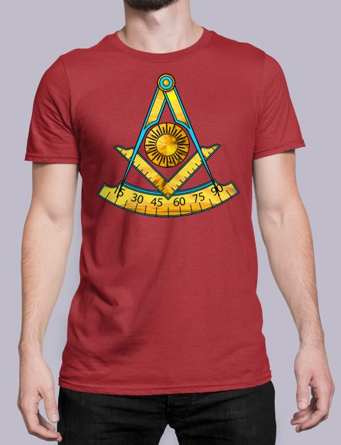 Past Master T-Shirt Red