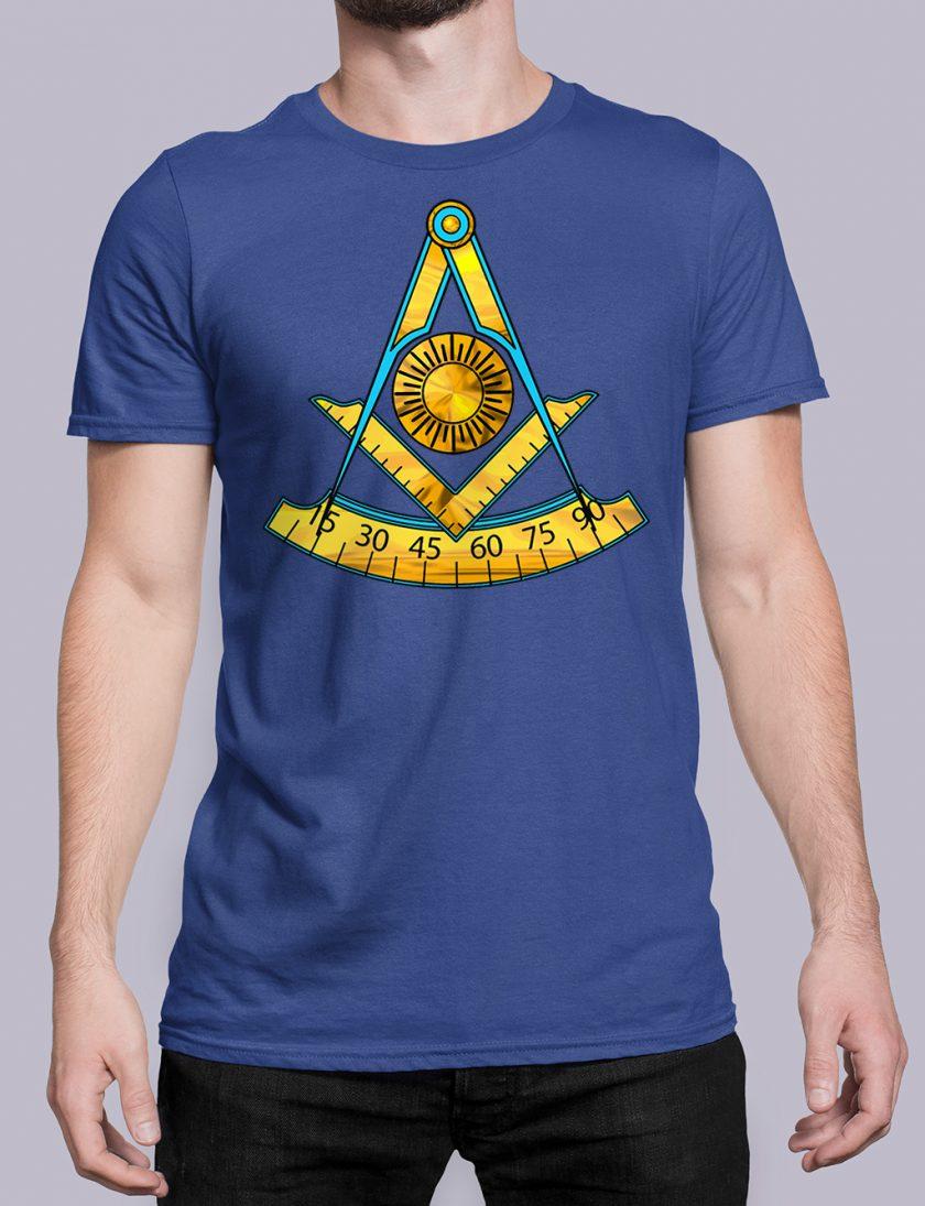 Past Master T-Shirt Royal Blue
